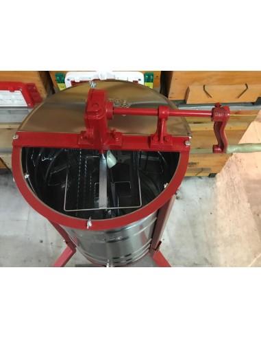 2'li Bal Süzme Makinesi Paslanmaz Krom